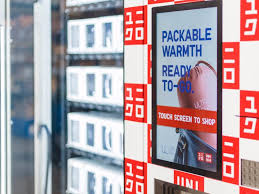 Vending Machine Business For Sale Atlanta Delectable Uniqlo Adds Vending Machines In Some Airports Business Insider