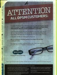 specsaver ads specsavers value bingo seeing double and more more  the blog why you won t specsavers in the thesaurus in synonyms a shortsighted attempt to