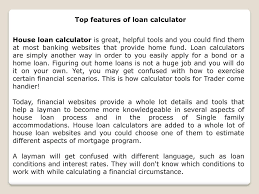 calculator house loan house loans calculator magdalene project org