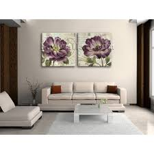 Modern Art Bedroom Large Hd Print Canvas Modern Abstract Floral Painting Bedroom Wall