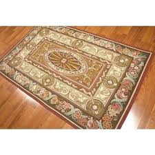 flat woven wool rug flat weave area rugs ornamental french brown wool hand woven rug 4 flat woven wool rug