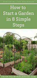 gardening for beginners how to start a