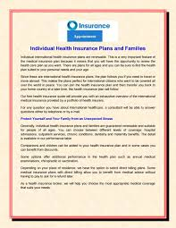individual health insurance plans and families by rk insurance point issuu