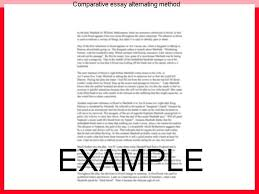 comparative essay alternating method research paper help comparative essay alternating method how to write a comparative analysis throughout your academic career