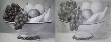 fruit bowl drawing with shading.  Drawing Still Life 4 By Artworktee  To Fruit Bowl Drawing With Shading A