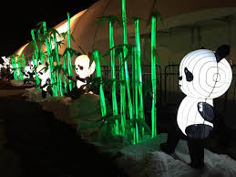 chinese panda lanterns