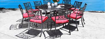 cast aluminum patio furniture high quality long lasting durable and easy to maintain