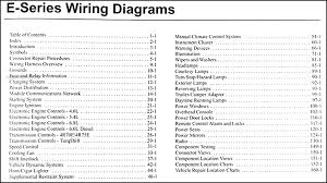 wiring diagrams ford diesel wiring diagram schematics 2005 ford econoline van club wagon wiring diagram manual original