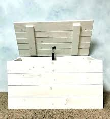 white hope chest wooden trunk large toy box storage rustic cedar ana washed