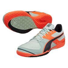 puma indoor soccer shoes for men. puma invicto sala indoor soccer shoes (fair aqua/total eclipse/lava blast) for men n