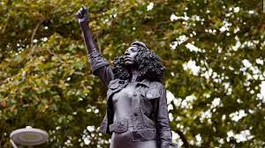 Edward Colston statue replaced with one of a Bristol protester - CNN Style