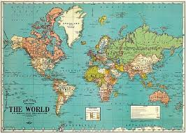 World Map Posters 37 Eye Catching World Map Posters You Should Hang On Your