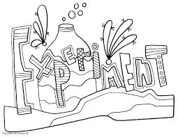 Coloring Pages For Science Science Coloring Pages Kids Picture