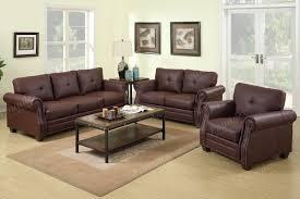 Showroom Living Room Leather Sofa Set Sofa Loveseat Living Room Furniture
