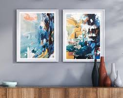 set of 2 art print abstract print set wall art large wall art abstract print large abstract art print from painting abstract canvas art on abstract wall art set of 2 with abstract canvas art etsy