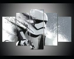 print stormtrooper star wars poster painting modern home star wars home decor wall art star wars home theater decor