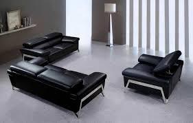 modern black leather couches. Modern Black Leather Sofa Set VG724 Modern Black Leather Couches