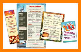 Online Menu Creator 9 Free Restaurant Menu Creator Shrewd Investment
