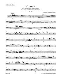 Mozart: Clarinet Concerto in A Major, K. 622 - Ficks Music