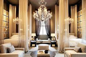 gallery odeon crystal glass fringe 3 tier chandelier