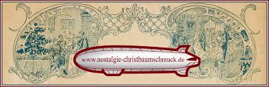 Nostalgie Christbaumschmuck Impressum