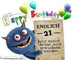 Glückwünsche Zum 21 Geburtstag Lustig Erwachsen