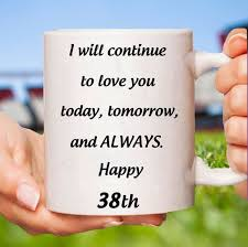 38th anniversary gift for her 38th anniversary gifts for women 38th wedding anniversary 38 anniversary 38 year anniversary 38 years 38thanniversarymug