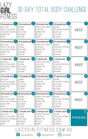 30 Day Beachbody Challenge Chart Full Body Workout Blog 30 Day Full Body Workout Challenge