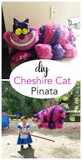 Alice in Wonderland Themed Party | DIY Cheshire Cat Pinata for about $5 |  Tangled in thoughts (.com) | Pinterest | Cheshire cat, Themed parties and  Alice