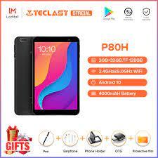 【Teclast official】Máy tính bảng Teclast P80H 8 inch Tablets Android 10.0 OS  2GB RAM 32GB ROM 1280 * 800 HD IPS Quad Core Máy ảnh kép GPS Wifi Bluetooth Máy  tính bảng