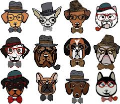 Dog Bathroom Accessories Hipster Dogs Bathroom Accessories Set Personalized Potty