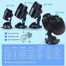Wave Maker Size Chart Super Silent Sobo Wave Maker Aquarium Flow Pump Wp 50m Wp 300m Wp 400m Wp 800m