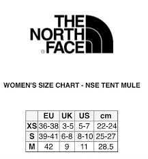 The North Face W Nse Tent Mule Iii Space Oink Tnf Black