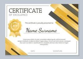 Sample Certificates Templates Certificate Template Free Vector Art 27675 Free Downloads