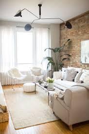 Ladrillo a la vista en casa. Marble Coffee TablesWhite CouchesWhite Couch DecorLiving  Room ...