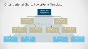 Sample Organizational Chart Powerpoint Pyramidal Org Chart For Powerpoint Slidemodel