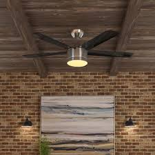 home decorators collection merwry 52 in led indoor brushed nickel ceiling fan for 83 30 shipped reg 119