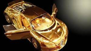 Gold bugatti price sport cars modifite. Gold Bugatti Veyron 1 18 Scale Model Costs 2 Million