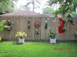stunning backyard outdoor fence decor ideas decorating unacco pict
