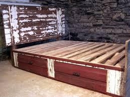 shabby chic barn door bed barn door bed frame