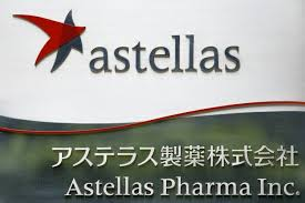 the logo of anese pharmaceutical pany astellas pharma inc is seen at the pany s headquarters