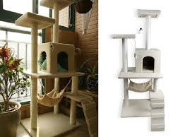indoor cat houses for tree house with hammock the ideas 0