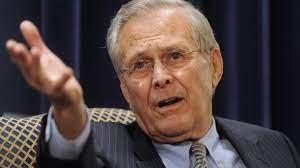 Ex-US-Verteidigungsminister Donald Rumsfeld gestorben - GrenzEcho