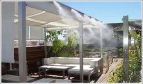 Effects Photo Gallery  Landscape Photo GalleriesBackyard Misting Systems
