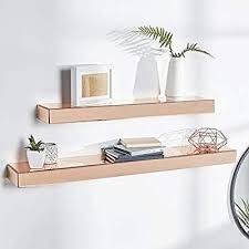 wall shelf display glass shelves decor