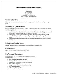 Office Assistant Resume Skills Stunning Office Assistant Resume Templates Legal Administrative Assistant