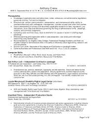 Professional Paralegal Resume May Revised 2016