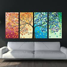wall art canvas wall art canvas painting decoration for living room picture colourful leaf trees wall on inspirational quotes canvas wall art nz with wall art canvas wall art canvas painting decoration for living room