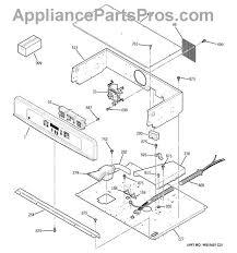 ge wb27t10411 oven control erc3b appliancepartspros com part diagram