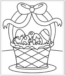 Easter Basket Free Printable Easter Coloring Pages For Kids Honey